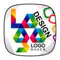 Logo Maker and graphic creator for free Icon