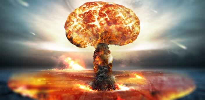 Nuclear Explosion 3D Wallpaper apk