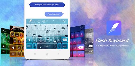 Flash Keyboard - Emoji & Theme apk