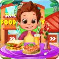 Restaurant Food Factory Cooking games for girls Icon
