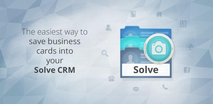Business Card Reader for Solve CRM apk