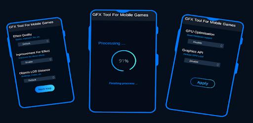 GFX Tool for PUBG - Game Launcher & Optimizer COD apk