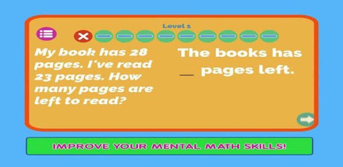 Mental Math App - Learning Math Exercises Games apk