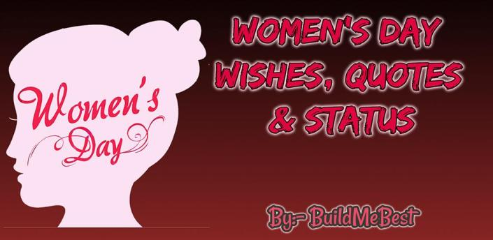 Happy Women's Day Quotes Wishes, Status & Messages apk