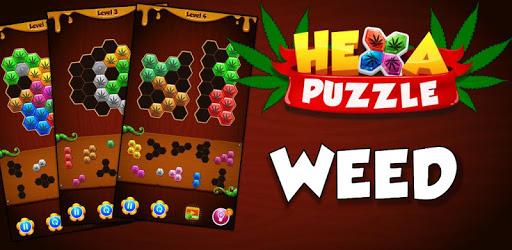 Hexa Block Puzzle Hexagon Weed Game apk