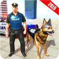 US Army Dog Airport Crime Chase Icon