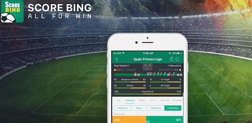 ScoreBing-football prediction & tips, Live scores apk