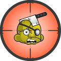 Shoot hungry zombies Icon