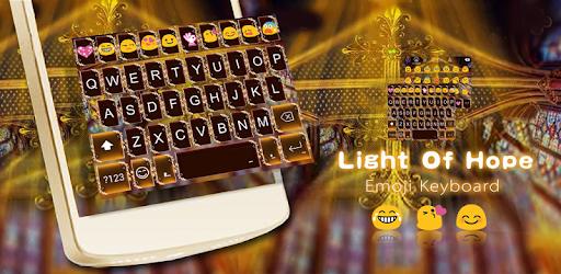 Light Hope Emoji Keyboard Skin apk