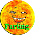 Nuclear Explosion Fart Farting Icon