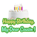 Birthday Wishes for Cousin, Quotes, Greeting Cards Icon