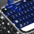 Simple Keyboard Dark Blue Icon