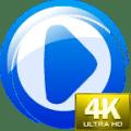 4K Video Player Ultra HD Free Icon