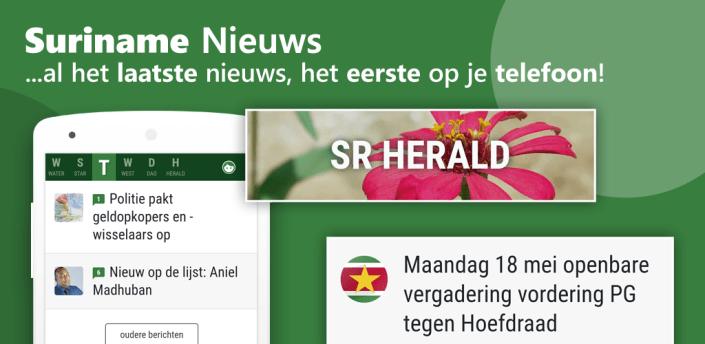 Suriname Nieuws - gratis apk