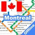 Montreal STM Metro Map Offline Icon