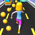 Subway Run Princess Runner Icon