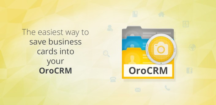 Business Card Reader for Oro CRM apk
