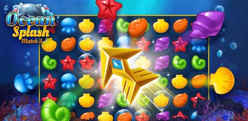 Ocean Splash Match 3: Free Puzzle Games apk