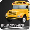 City in Bus Driver Icon