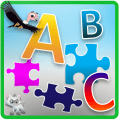 ABC Jigsaw Puzzle Game for Kids & Toddlers! Icon