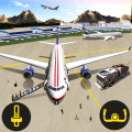 City Airplane Pilot Simulator Icon