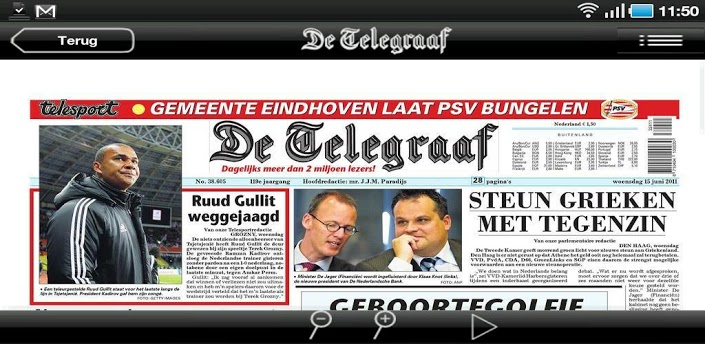 De Telegraaf Krant apk