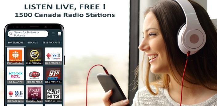 Radio Canada - Online Radio, FM Radio apk