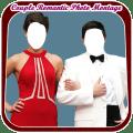 Couple Romantic Photo Montage Icon
