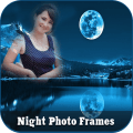 Good Night Photo Frame Icon