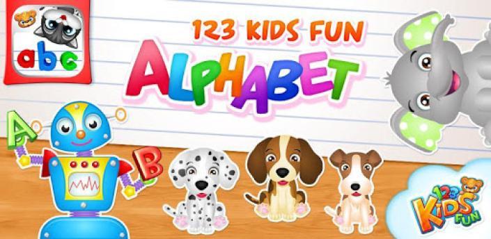 123 Kids Fun ALPHABET: Alphabet Games for Kids apk