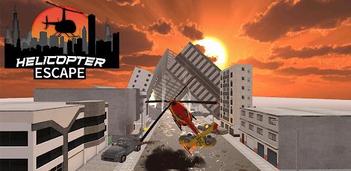 Helicopter Escape - Smash City Survival Games apk