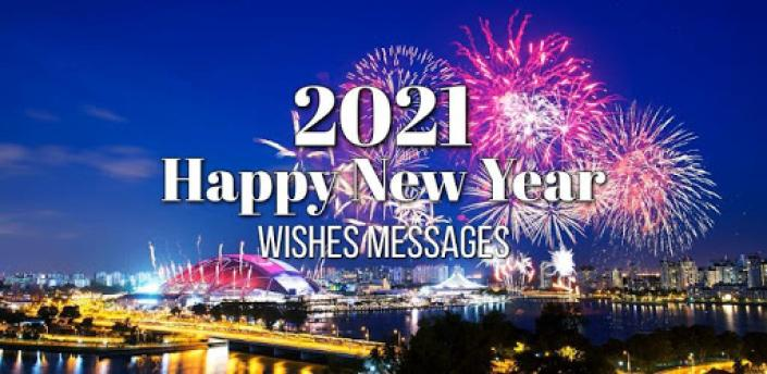 Happy New Year Wishes Cards & Messages 2021 apk