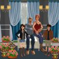 Virtual Happy Family Ultimate Home Adventure Sim Icon