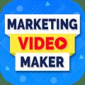 Marketing Video Maker, Promo Video Maker Icon
