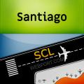 Santiago Airport (SCL) Info + Flight Tracker Icon