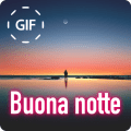 Italian Good Night & Sweet Dreams Gif Images Icon