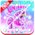 Pony unicorn Lock screen, pony unicorn wallpaper Icon