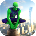 Spider Rope Hero - Gangster Crime City Wallpapers Icon