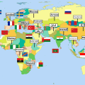 Countries, Capitals and Flags Quiz Icon