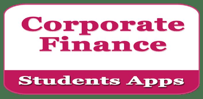 Corporate Finance - educational app apk