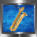 Virtual Baritone Saxophone Icon