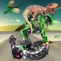 Dragon Robot Transform Icon