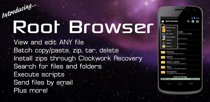 Root Browser (File Manager) apk