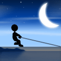 Swing Stickman Icon