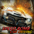 Speed Bomb Car Driving Icon