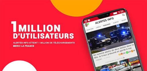 Alertes info: Actualité locale et alerte d'urgence apk