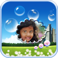Bubbles Photo Frames HD Icon