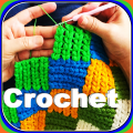 Crochet stitches step by step👕Learn crochet Icon