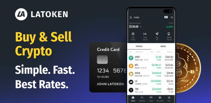 LATOKEN: Bitcoin Wallet, Crypto Exchange apk