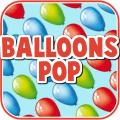 Balloons Pop! - Free Icon